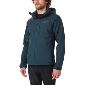 Columbia Cascade Ridge II Chaqueta Softshell Hombre, night shadow